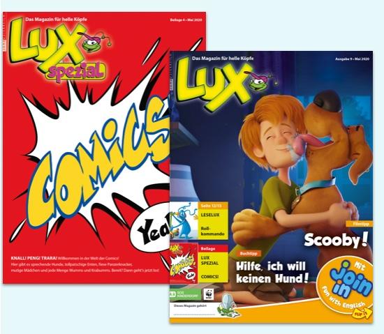 Schülerzeitschrift LUX