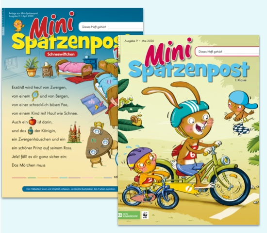 Schülerzeitschrift Mini-Spatzenpost