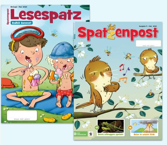 Schülerzeitschrift Spatzenpost