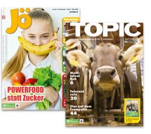 Jugendmagazine JÖ und TOPIC