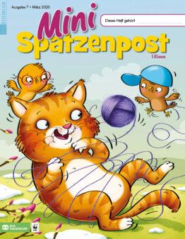 Die Zeitschrift Mini-SPATZENPOST